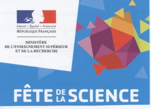 Logo officiel de la Fête de la Science