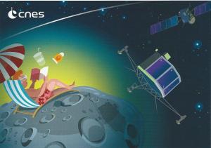 Rosetta approchant de la comète